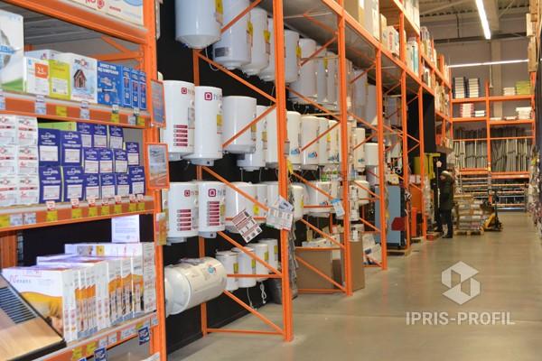 торговые стеллажи для супермаркетов DIY
