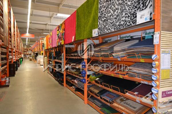 Стеллаж для ковров - торговые стеллажи от Иприс-Профиль