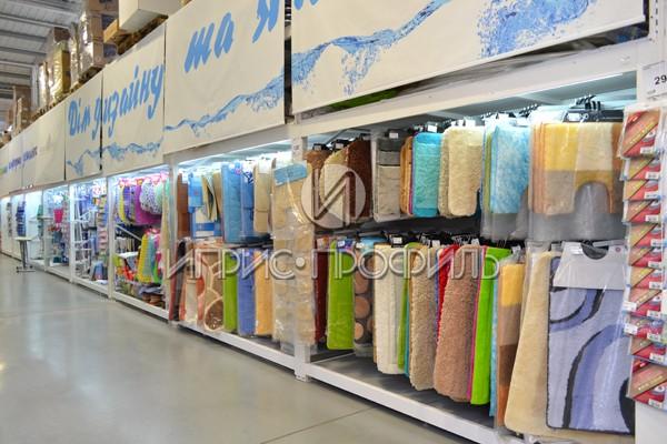 Стеллаж коврики - торговое оборудование от Иприс-Профиль