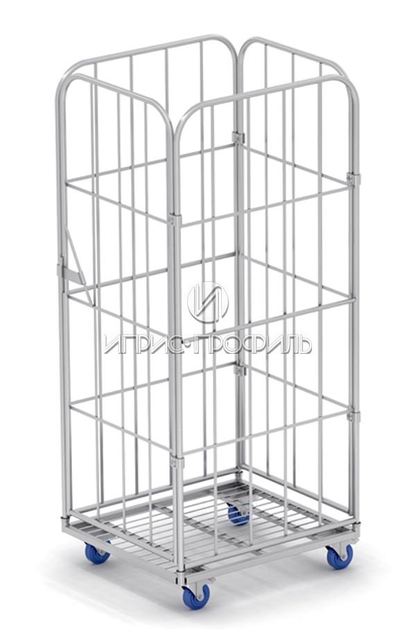 четырехстеночный-разборный ролл контейнер