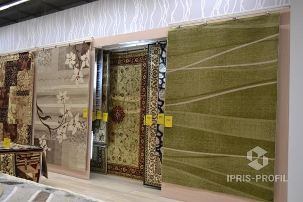 экспозитор ковров раздвижной