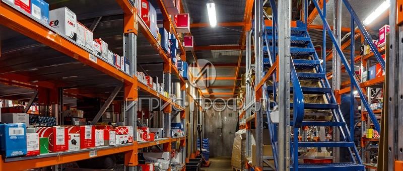 мезонины для склада от производителя